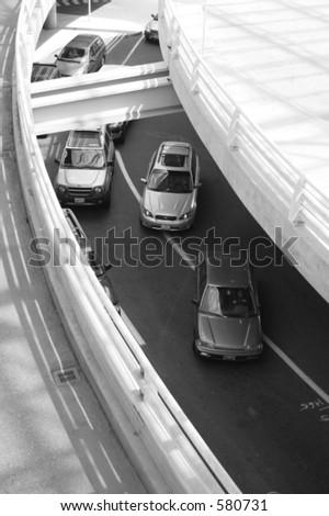 Car Garage - stock photo