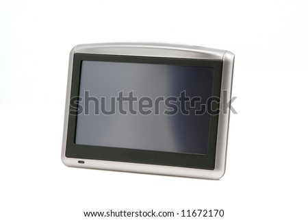 Car gps navigation display