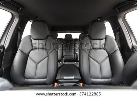 car inside interior prestige modern car stock photo edit now 374122885 shutterstock. Black Bedroom Furniture Sets. Home Design Ideas