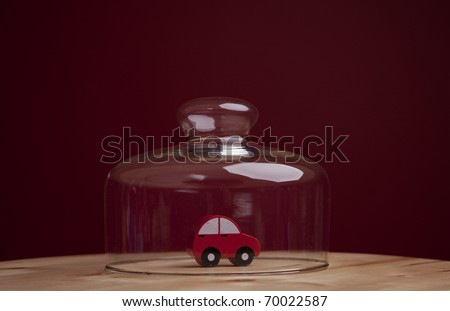 Car insurance solution for the best protection - stock photo