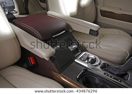 luxury car interior stock photo 73944796 shutterstock. Black Bedroom Furniture Sets. Home Design Ideas