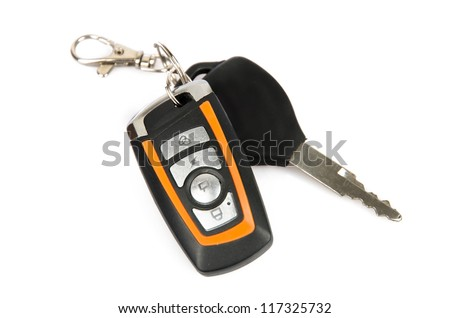 Car key - stock photo