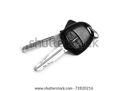 Car keys - stock photo