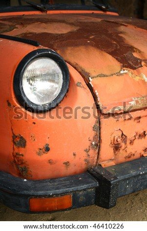 Car - old crock - stock photo
