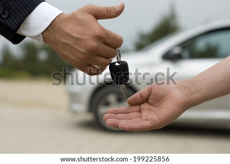 Car Rental - stock photo