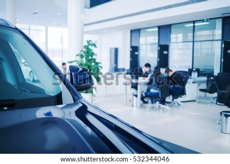 Car sales, market place,