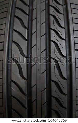 Car tire - stock photo