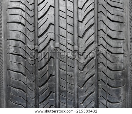 car tires texture for background.
