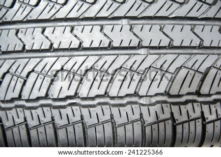 Car tyre pattern