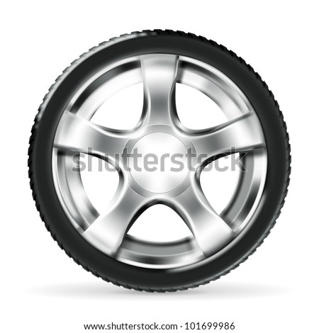 Car Wheel, bitmap copy