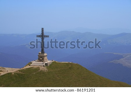 Caraiman Mountain Cross