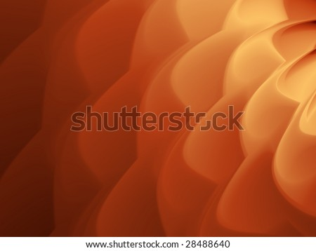 Caramel coffee cream ripple background illustration. - stock photo