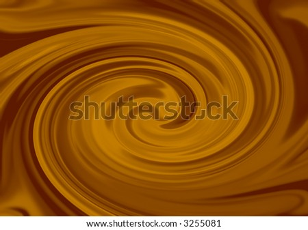 caramel swirl - stock photo