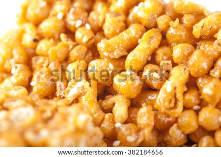 caramel treat a popular candy in China