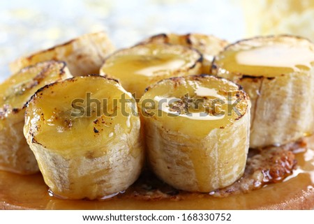 caramelised banana