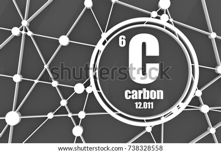 Carbon chemical element sign atomic number stock illustration carbon chemical element sign with atomic number and atomic weight chemical element of periodic urtaz Image collections