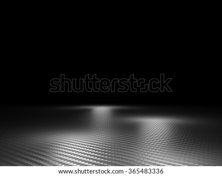 carbon fiber background 3d image - stock photo