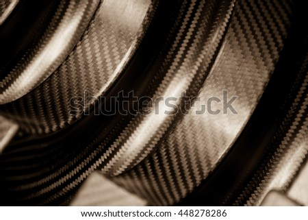 Carbon fiber Kevlar composite material background