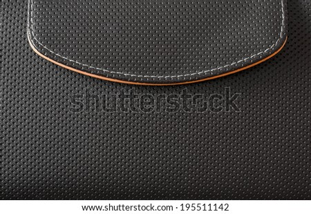 carbon fiber texture from a bag - stock photo