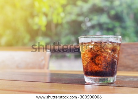 carbonated soft drink - stock photo
