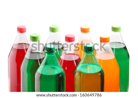 carbonated soft drink sold in stores, restaurants, and vending machines throughout the world.  - stock photo