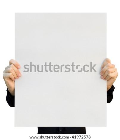 card blank - stock photo