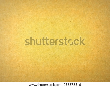 Card board and natural paper background - with central effect - stock photo