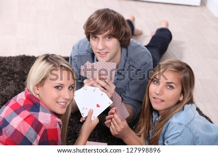 Card game with friends