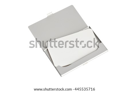 card in a cardholder