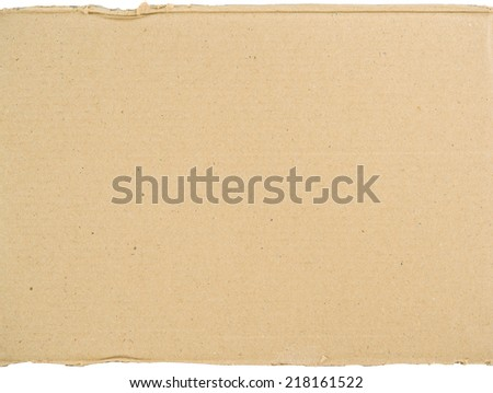 Cardboard background and texture - stock photo