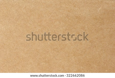 Cardboard blank background empty to insert text or design