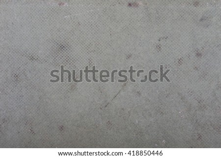 Cardboard cover of the old book texture background - stock photo