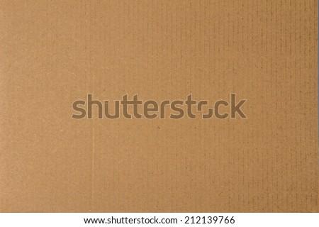 Cardboard paper  - stock photo