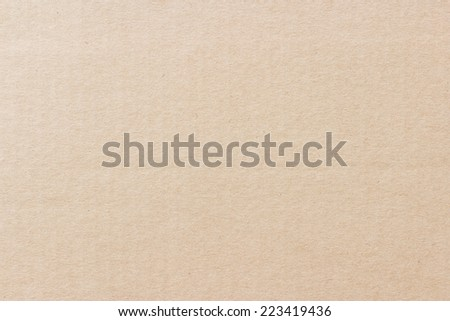 Cardboard texture or background - stock photo