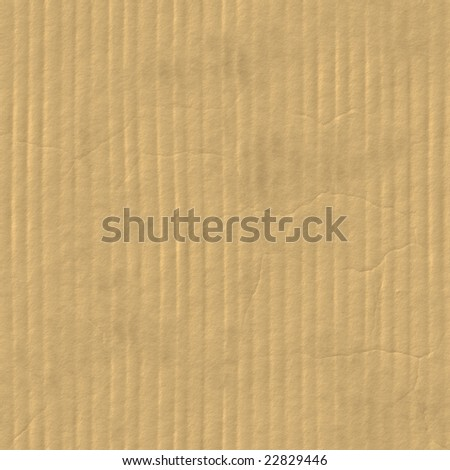 cardboard texture, seamless - stock photo