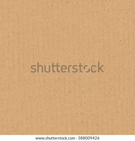 Cardboard texture. Seamless tileable corrugated background - stock photo