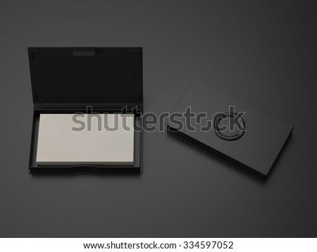 cardbox mockup - stock photo