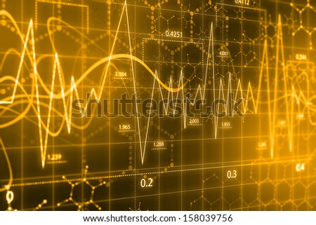 Cardiac Frequency - stock photo