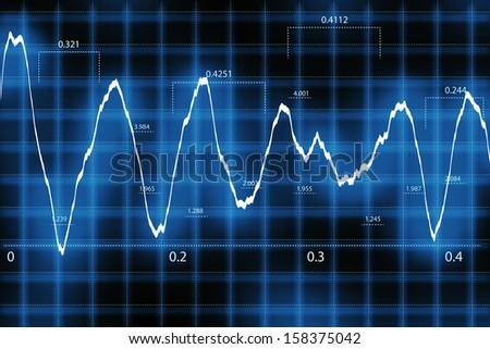 Cardiac Frequency - stock photo