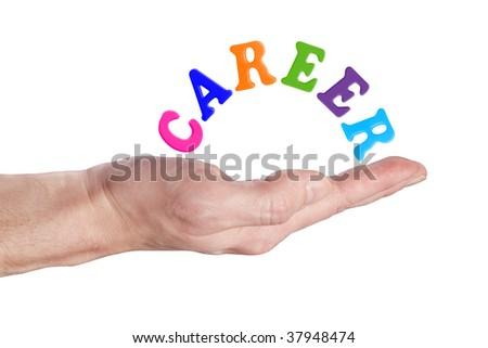 career - stock photo