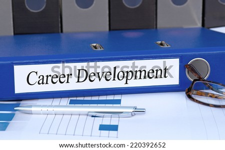 Career Development - stock photo