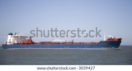 Cargo ship 3 - stock photo