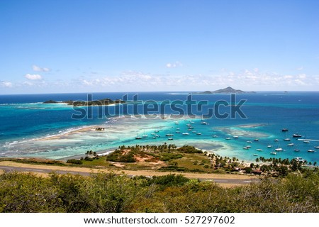 Caribbean paradise on Union Island, Saint Vincent and the Grenadines