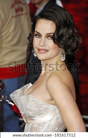 Carla Gugino at THE NUMBER 23 Los Angeles premiere, The Orpheum Theater, Los Angeles, CA, February 13, 2007
