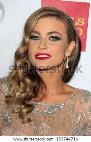 "Carmen Electra at the ""Voices On Point"" Gala, Century Plaza Hotel, Century City, CA 09-07-13"