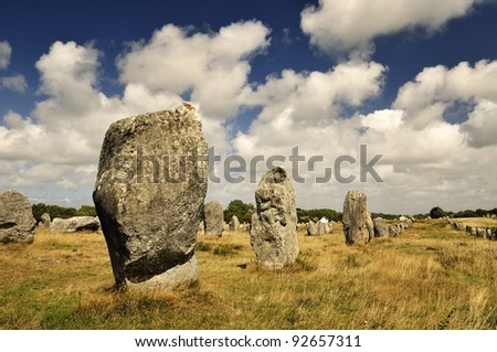 Carnac, Megalithic monuments, France