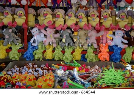 Carnival Games - stock photo