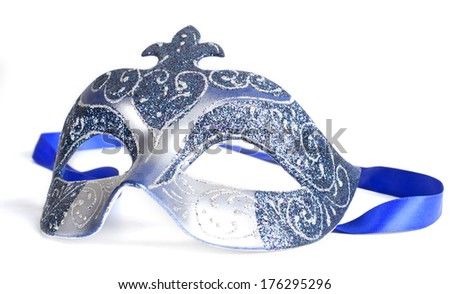 Carnival mask. - stock photo