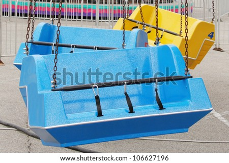 Carnival ride - stock photo