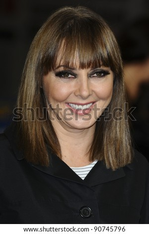"Carol Vorderman arriving for the ""Hugo"" Royal Gala Premiere at the Odeon Leicester square, London. 28/11/2011 Picture by: Alexandra Glen / Featureflash"